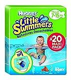 Huggies 2900251 Little Swimmers - Pañales (20 pañales, talla 3/4 7-15 kg)