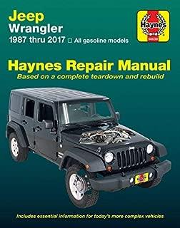 Haynes Repair Manual 50030 for Jeep Wrangler 1987-2017