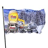 Coors Light Beer Flag 3x5 Ft Outdoor Durable Polyester for Outdoor Decoration Banner Single Side Funny Dorm Flags for Room