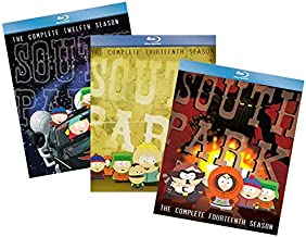 South Park Blu-ray Collection: The Complete Twelfth, Thirteenth & Fourteenth Seasons (Seasons 12, 13 & 14) [Bluray]