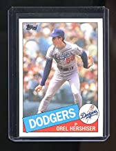 orel hershiser rookie card