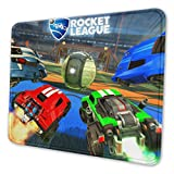 Rocket Car League Mouse Pad Custom Gaming Mouse Mat with Stitched Edges Non-Slip Rubber Office Accessories Desk Decor Computer Laptop Gift 7 X 8.6 in