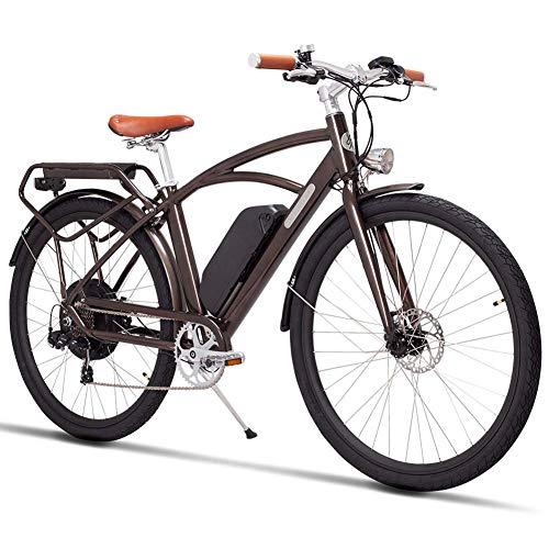 Qnlly Bicicleta eléctrica 48V 500W Motor de Alta Velocidad Bicicleta eléctrica de...
