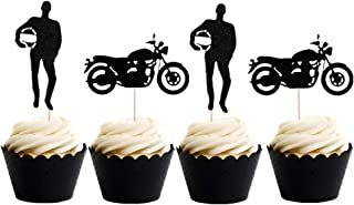 scooter cupcake toppers