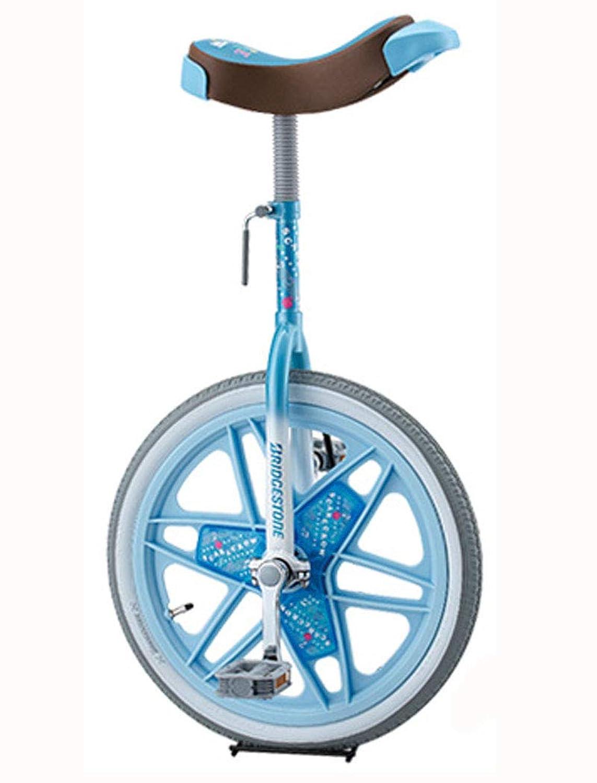 BRIDGESTONE(ブリヂストン) スケアクロウ 一輪車(スタンド付) 18インチ(SCW18) [ライトブルー(LB)]