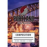 Composition: Portland Trail Blazers Recipe Interior Notebook American Basketball Notebook Wide Ruled at 6 x 9 Inches - Christmas, Thankgiving Gift Ideas #8