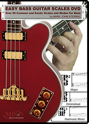 EASY BASS GUITAR SCALES DVD - Over 50 Common and Exotic Scales and Modes For Bass