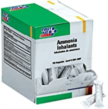 First Aid Only H5041-AMP Ammonia Inhalant Ampoules, 100/Box