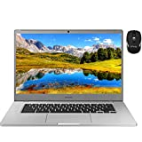 2020 Latest Samsung Chromebook 4+ 15 Laptop Computer 15.6'FHD 1080P WLED Display Intel Celeron Processor N4000 4GB RAM 32GB eMMC 128GB SD Card USB-C Bluetooth WebcamChrome OS + iCarp Wireless Mouse