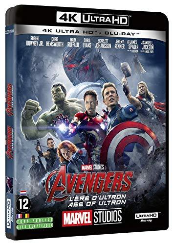 Avengers L'ère d'Ultron +2D [4K Ultra HD + Blu-Ray]