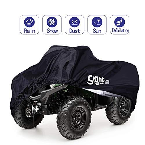 SIGHTLING Cubierta Funda Protector Impermeable 190T para Coche ATV Resistente a Agua a Prueba de Polvo Anti-UV ,210 * 120 * 115cm