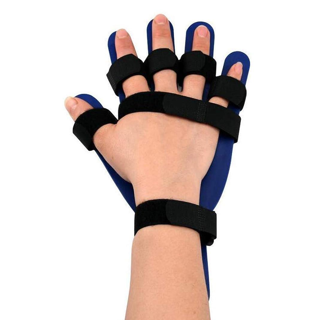 故障湿気の多い対話親指サポートトリガーフィンガースプリント、右手首スプリントユニセックスフィンガープレート,Right Hand
