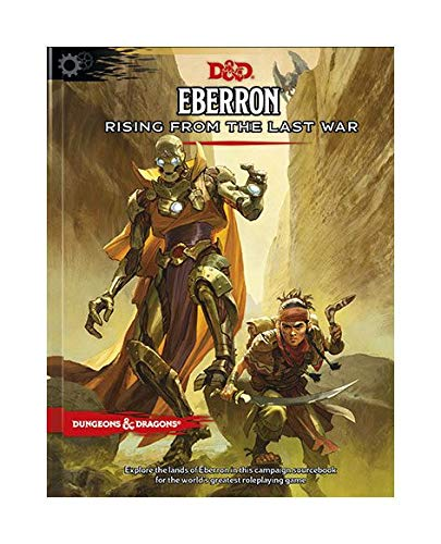 Wizards of the Coast Dungeons & Dragons RPG Adventure Eberron: Rising from The Last War English