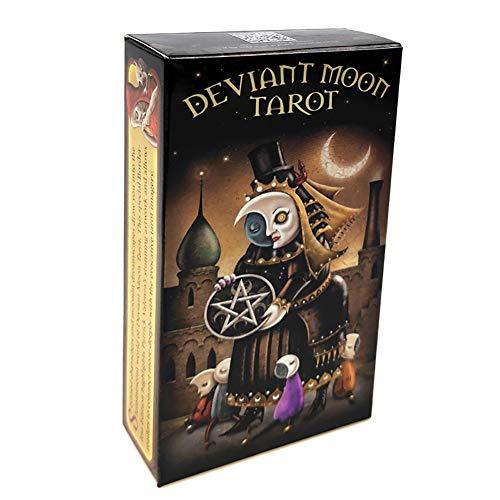 SYJH Tarot Karten Tarotkarten Deck Spieltisch, Englische Brettspiele, Moon Deviant Family 78PCS Für Unterhaltung