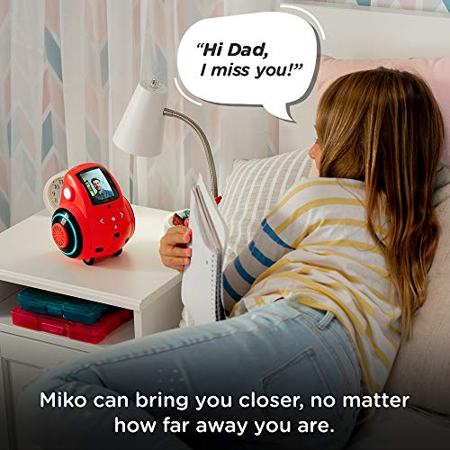 Miko 2: Playful Learning STEM Robot | Programmable + Voice Activated AI Tutor + Autonomous +...