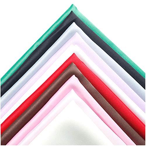 MAGFYLY Verdickung Verschlüsster Satingewebe, Verwendet Für Vorhänge, Handgefertigte DIY, Cos(Color:pink3)