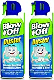 Air Duster, Can Air, Compressed Air Duster, Cleaning Duster, 10 oz. Can - 2 Cans
