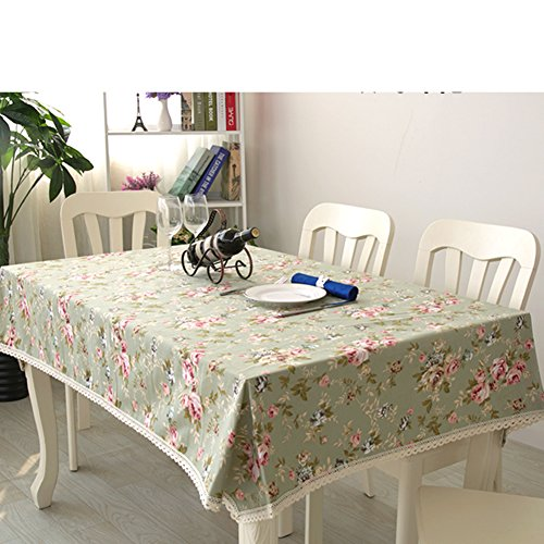 Tafelkleed/doek, moderne minimalistische tafelkleed, katoenen tafelkleed, tafelkleed, pastorale stijl, tafelkleed, woonkamer, salontafel, vierkant tafelkleed 110x160cm(43x63inch) C