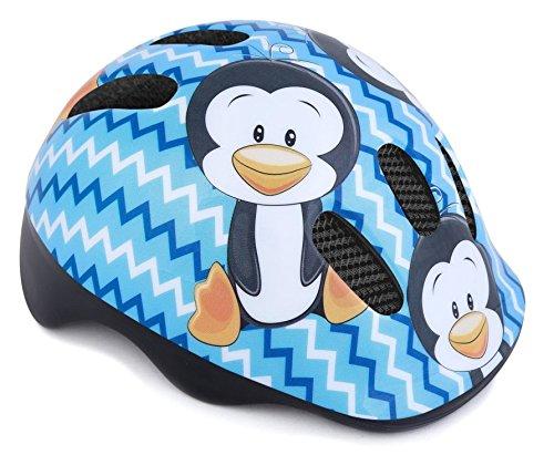 Casco di sicurezza per bambini e bambine da 44-48 cm, Bambino, police claper blue girl, Pinguino., 44-48 cm