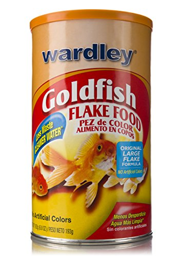 Wardley Premium Goldfish Food Flakes - 6.8oz