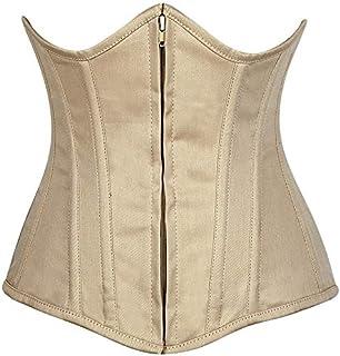 75fada56a Amazon.com  Plus Size - Beige   Bustiers   Corsets   Women  Clothing ...