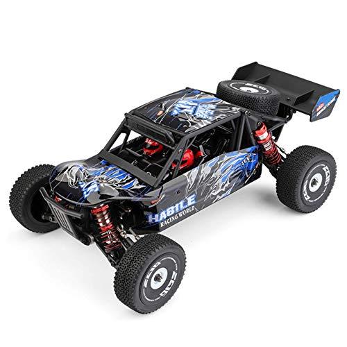 WGFGXQ Coche RC de Alta Velocidad 4WD Vehículo Todoterreno 1/12 Escala Coche de Control Remoto 30Km / H 2.4Ghz RC Truck Racing Car para niños