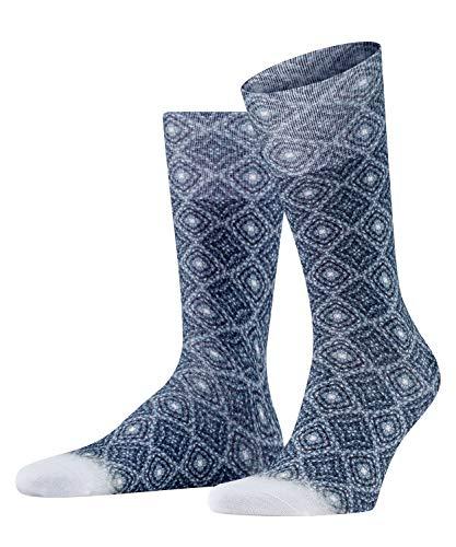 FALKE Herren Mesmerized Socken, weiss (white 2000), 39-40 (UK 5.5-6.5 Ι US 6.5-7.5)