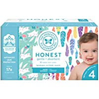 120-Count The Honest Company Super Club Box Diapers (Size 4)