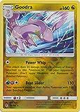 Pokemon Goodra - 96/145 - Holo Rare - Reverse Holo - Sun & Moon: Guardians Rising