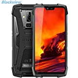 Blackview BV9700 PRO,Android 9.0 4G Smartphone 5.84' 19:9 FHD+ Display,Helio P70 6GB+128GB,4380mAh Battery,IP68/IP69K Waterproof/Dustproof,Dual Camera,NFC,Face ID (9700pro)