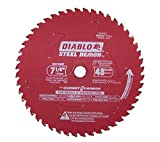 Diablo D0748CF STEEL DEMON 7 1/4 inch 48 Teeth Metal and Stainless Steel cutting Saw Blade CERMET II Carbide Up to 5X Longer Life
