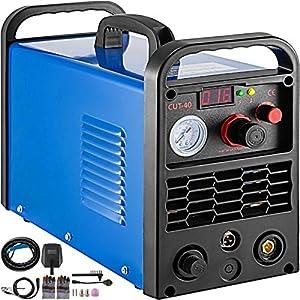 Mophorn Plasma Cutter 50 Amp, Plasma Cutting Machine Dual Voltage 110-220V,Compact Metal Cutting...