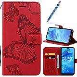 Robinsoni Custodia Compatibile con Xiaomi CC9e Cover Folio a Fogli Mobili Cover Libro Pell...
