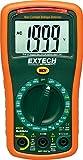 Extech EX310 Mini multímetro de rango manual con función de prueba de batería