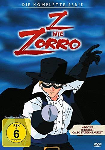 Z wie Zorro Die Serie [4 DVDs]