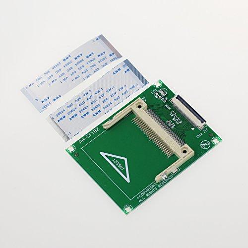 """LEAGY Tarjeta CF a Adaptador CE de 1,8"""", Disco de Memoria Flash Compacto a convertidor ZIF de 1,8 Pulgadas para iPod"""