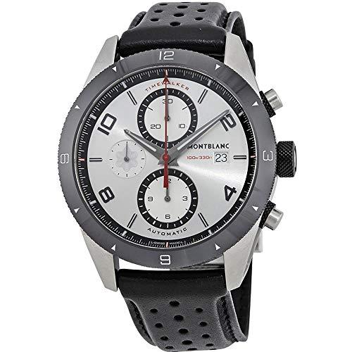 Montblanc TimeWalker Reloj de Hombre automático 43mm Correa de Cuero 116100