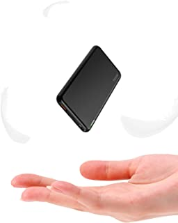 TNTOR 10 000 mAh bärbar laddare, USB-C-powerbank med 18 W PD och snabbladdning 3.0, aluminiumskal med ultratunn design, ko...