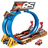 Mattel Cars XRS Pista Superlooping Carreras en el Barro