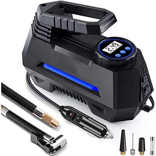 Bluetooth earphone Inflador de neumáticos de compresor de Aire y Cable de extensión de Encendedor de Cigarrillos 12FT de 12 pies para automóvil, Bicicleta, Globos y Otros inflables