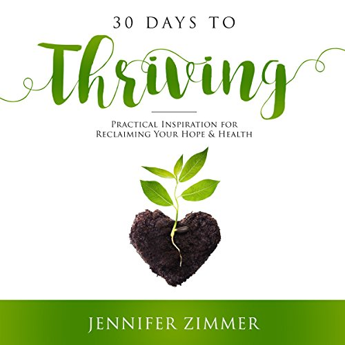 30 Days to Thriving audiobook cover art