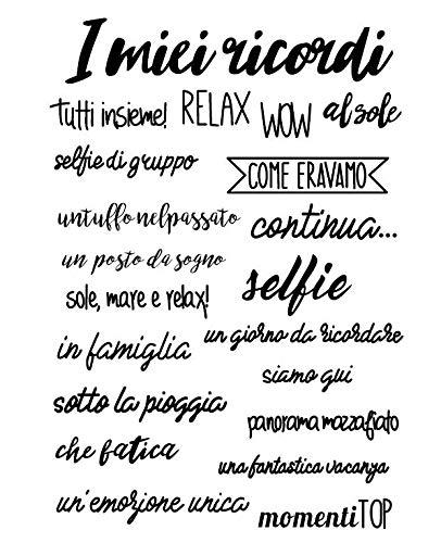 Parole italiane Swan Trasparente Silicone trasparente Timbro/sigillo per scrapbooking fai da te/album fotografico Decorativo chiaro francobolli fogliA1257