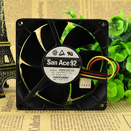 9G0912G104 9038 9cm DC12V 1.10A 3 wire chassis violence fan