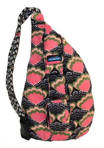KAVU Rope Bag,Pink Majestic
