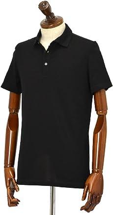Cruciani【クルチアーニ】ポロシャツ JF826PC NERO コットン ジャージー ブラック
