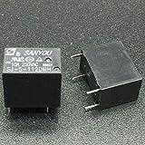 Rel/è di potenza per auto 12 V 20 A SPDT 90R SANYOU SARS-112D