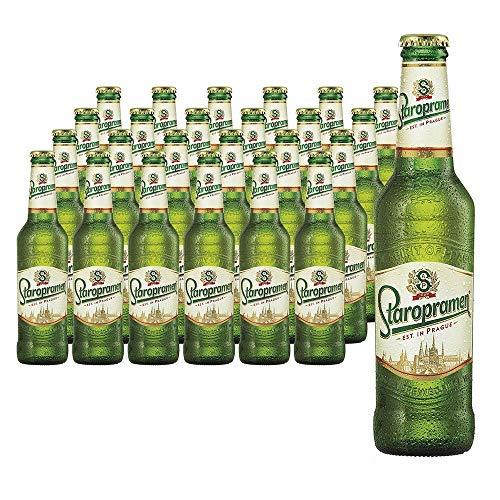 Staropramen Premium Cerveza Lager - 24 Paquetes de 7920 ml - Total: 190080 ml