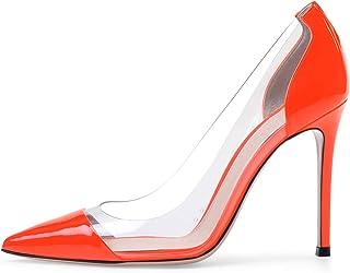 48740754a18 Amazon.com  Orange - Pumps   Shoes  Clothing