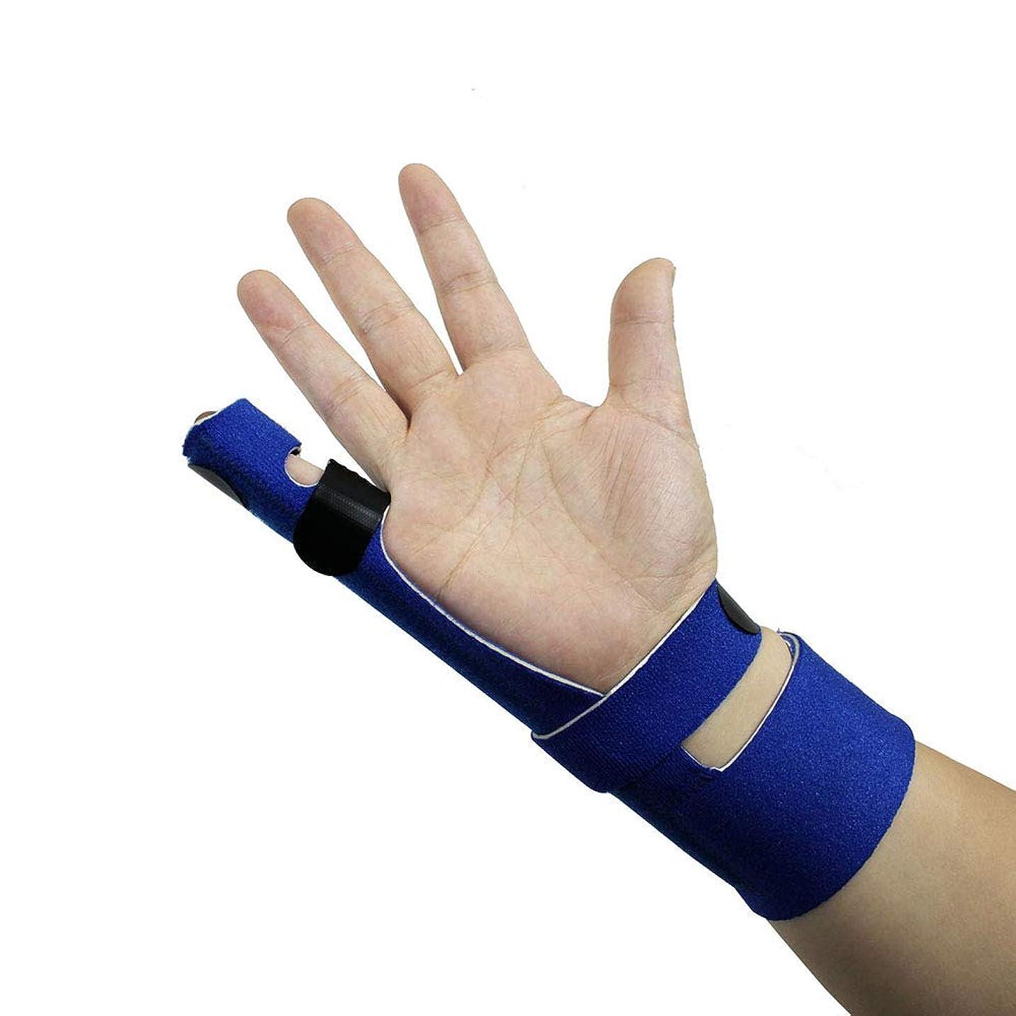 スリラー謙虚器具フィンガーエクステンションスプリント、腱炎の痛みの軽減、トリガーフィンガー、マレットフィンガー、関節炎フィンガースプリントの指の骨折または骨折