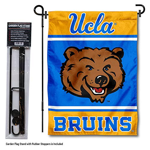 College Flags & Banners Co. Bruins Garden Flag with Stand Holder